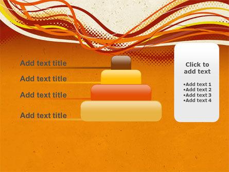 Orange Lines PowerPoint Template Slide 8