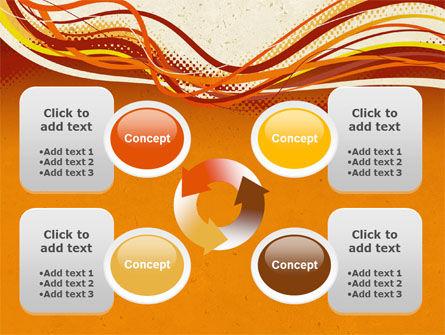 Orange Lines PowerPoint Template Slide 9