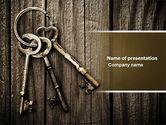 Education & Training: Keys PowerPoint Template #04609