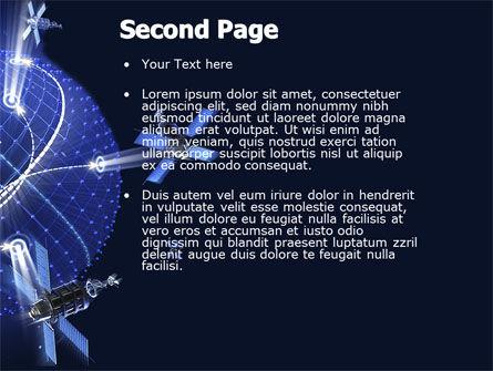 General Position System PowerPoint Template, Slide 2, 04610, Telecommunication — PoweredTemplate.com
