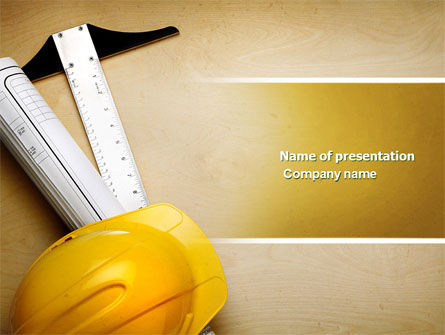 Foreman PowerPoint Template, 04611, Construction — PoweredTemplate.com