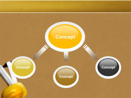 Foreman PowerPoint Template, Slide 4, 04611, Construction — PoweredTemplate.com