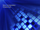 Abstract/Textures: Digital Panel PowerPoint Template #04613