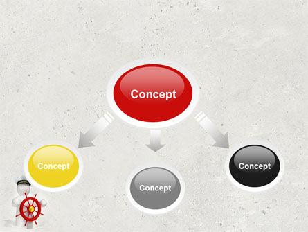 Captain PowerPoint Template, Slide 4, 04615, Business Concepts — PoweredTemplate.com