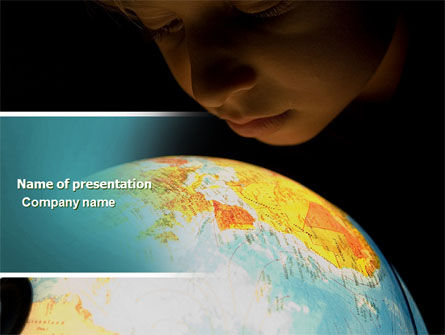 World Overview PowerPoint Template, 04617, Education & Training — PoweredTemplate.com