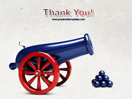 Cannon PowerPoint Template Slide 20
