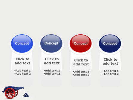 Cannon PowerPoint Template Slide 5