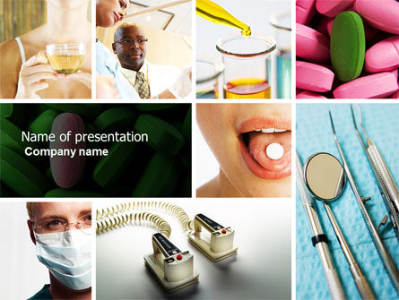 Medical: Modern Methods Of Treatment PowerPoint Template #04621