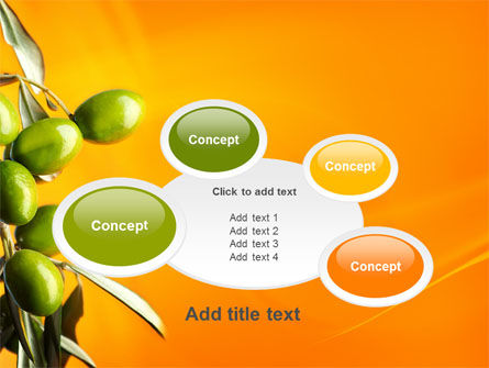 Olives PowerPoint Template Slide 16