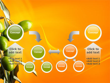 Olives PowerPoint Template Slide 19