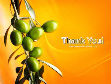 Olives PowerPoint Template Slide 20