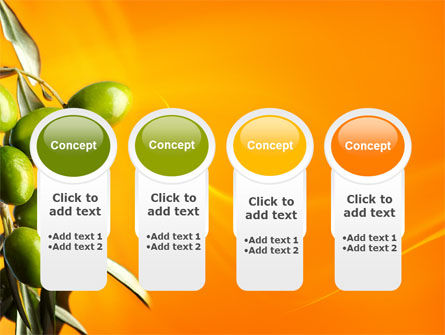 Olives PowerPoint Template Slide 5