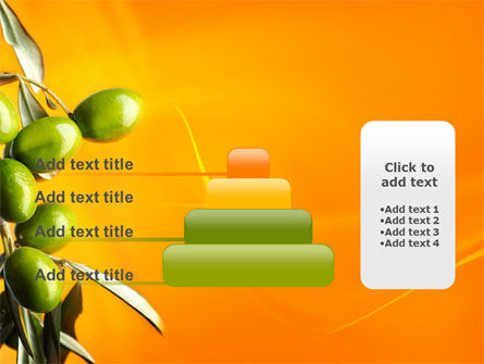 Olives PowerPoint Template Slide 8
