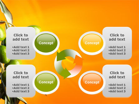 Olives PowerPoint Template Slide 9