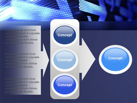 Pointing Arrow PowerPoint Template Slide 11