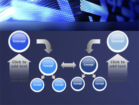 Pointing Arrow PowerPoint Template Slide 19