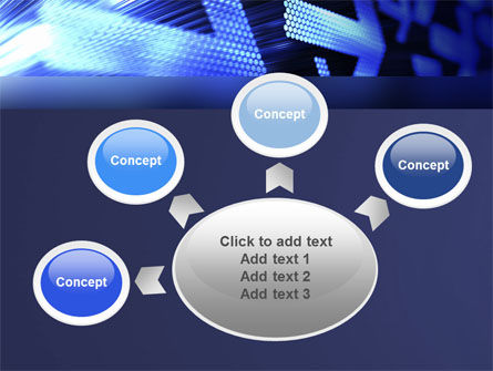 Pointing Arrow PowerPoint Template Slide 7