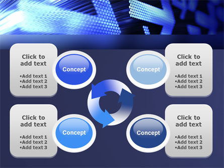 Pointing Arrow PowerPoint Template Slide 9