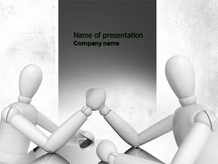 Rivalry PowerPoint Template, 04624, Consulting — PoweredTemplate.com