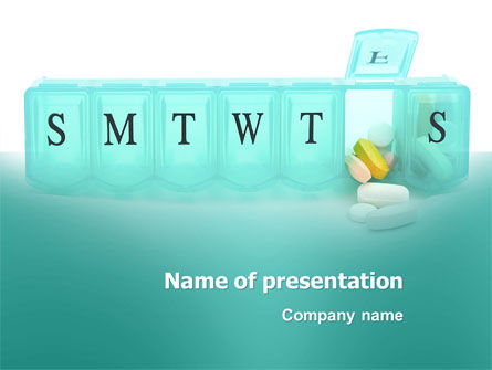 Medication Dosage PowerPoint Template, 04625, Medical — PoweredTemplate.com