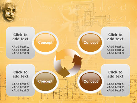 Einstein PowerPoint Template Slide 9