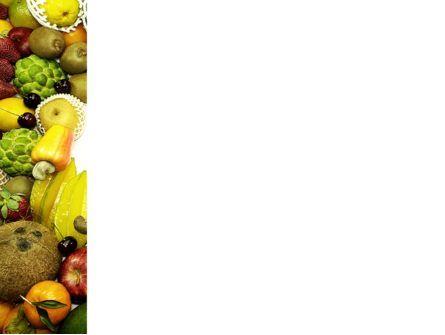 Fruit Profusion PowerPoint Template, Slide 3, 04634, Agriculture — PoweredTemplate.com