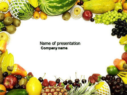 Fruit profusion powerpoint template backgrounds 04634 fruit profusion powerpoint template 04634 agriculture poweredtemplate toneelgroepblik Images