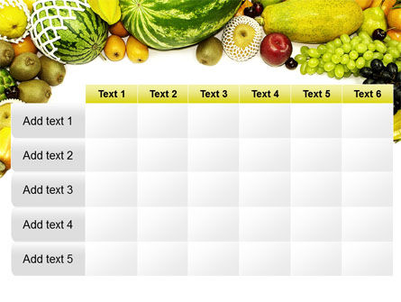 Fruit Profusion PowerPoint Template Slide 15