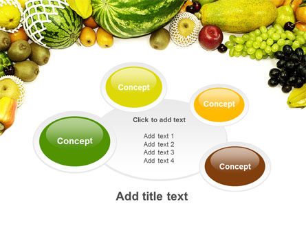 Fruit Profusion PowerPoint Template Slide 16