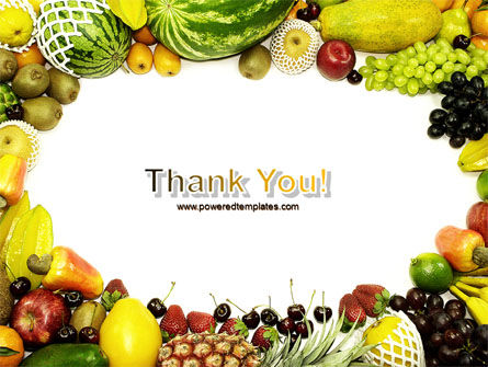 Fruit Profusion PowerPoint Template Slide 20