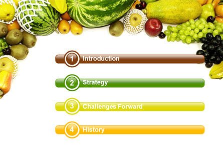 Fruit Profusion PowerPoint Template Slide 3