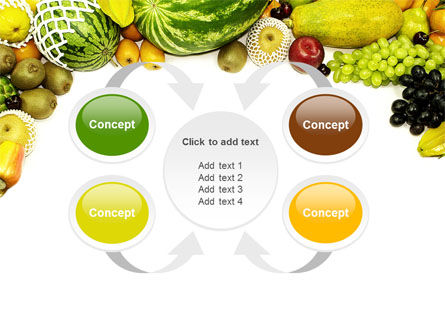 Fruit Profusion PowerPoint Template Slide 6