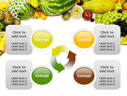 Fruit Profusion PowerPoint Template Slide 9