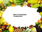 Agriculture: Fruit Profusion PowerPoint Template #04634