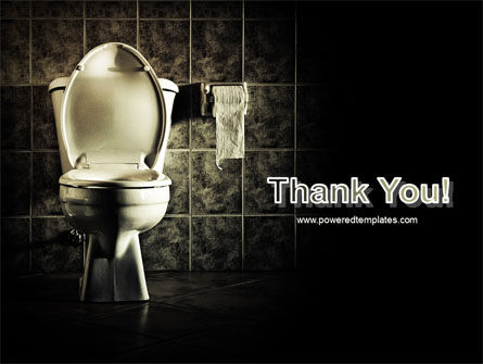 Toilet PowerPoint Template Slide 20