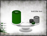 Stones and Grass PowerPoint Template#10