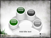 Stones and Grass PowerPoint Template#12