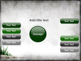 Stones and Grass PowerPoint Template#14