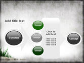 Stones and Grass PowerPoint Template#17