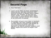 Stones and Grass PowerPoint Template#2