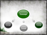Stones and Grass PowerPoint Template#4