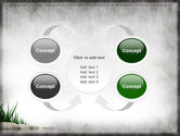Stones and Grass PowerPoint Template#6