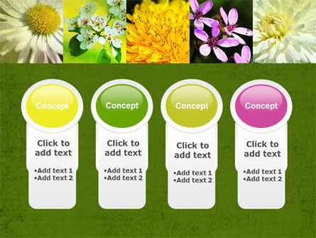 Floristic PowerPoint Template Slide 5