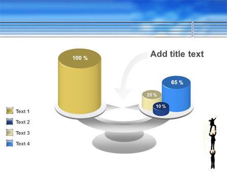 Reaching Success PowerPoint Template Slide 10
