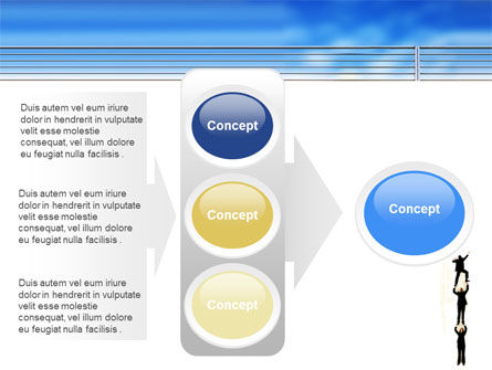 Reaching Success PowerPoint Template Slide 11