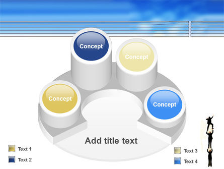 Reaching Success PowerPoint Template Slide 12