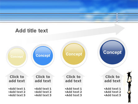 Reaching Success PowerPoint Template Slide 13