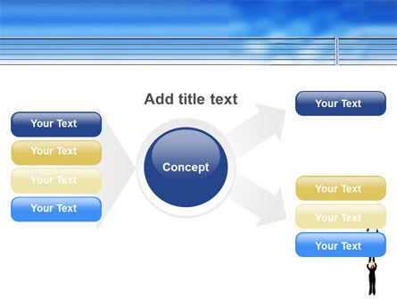 Reaching Success PowerPoint Template Slide 14