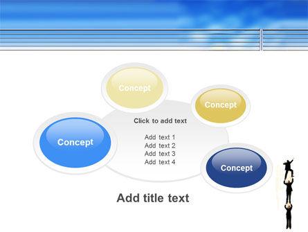 Reaching Success PowerPoint Template Slide 16