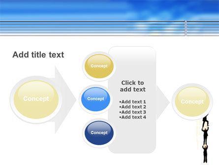 Reaching Success PowerPoint Template Slide 17